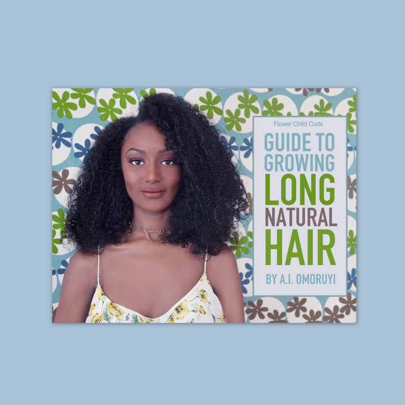 Guide To Growing Natural Hair REGIMEN ONLY : EBOOK