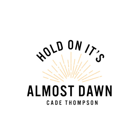 Almost Dawn Sticker