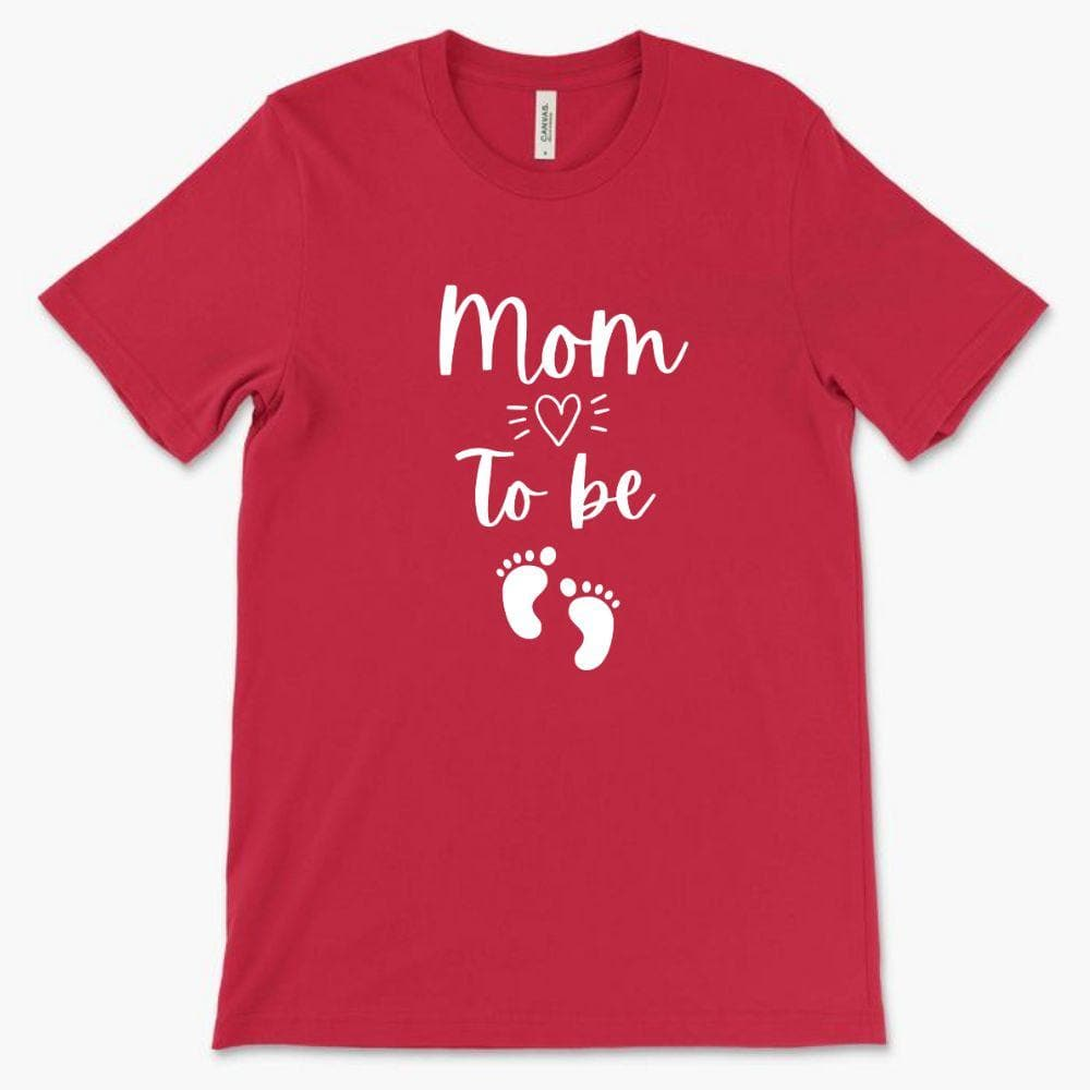 Cute Pregnancy Shirt - Mom to be - Bella 3001 (Unisex)