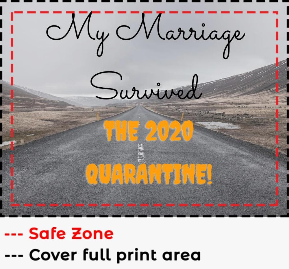 My Marriage Survived 2020 Quarantine Insulated Tumbler (Suction Lid)