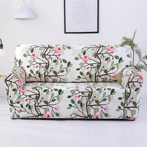 Sofa Cover Flower Variety