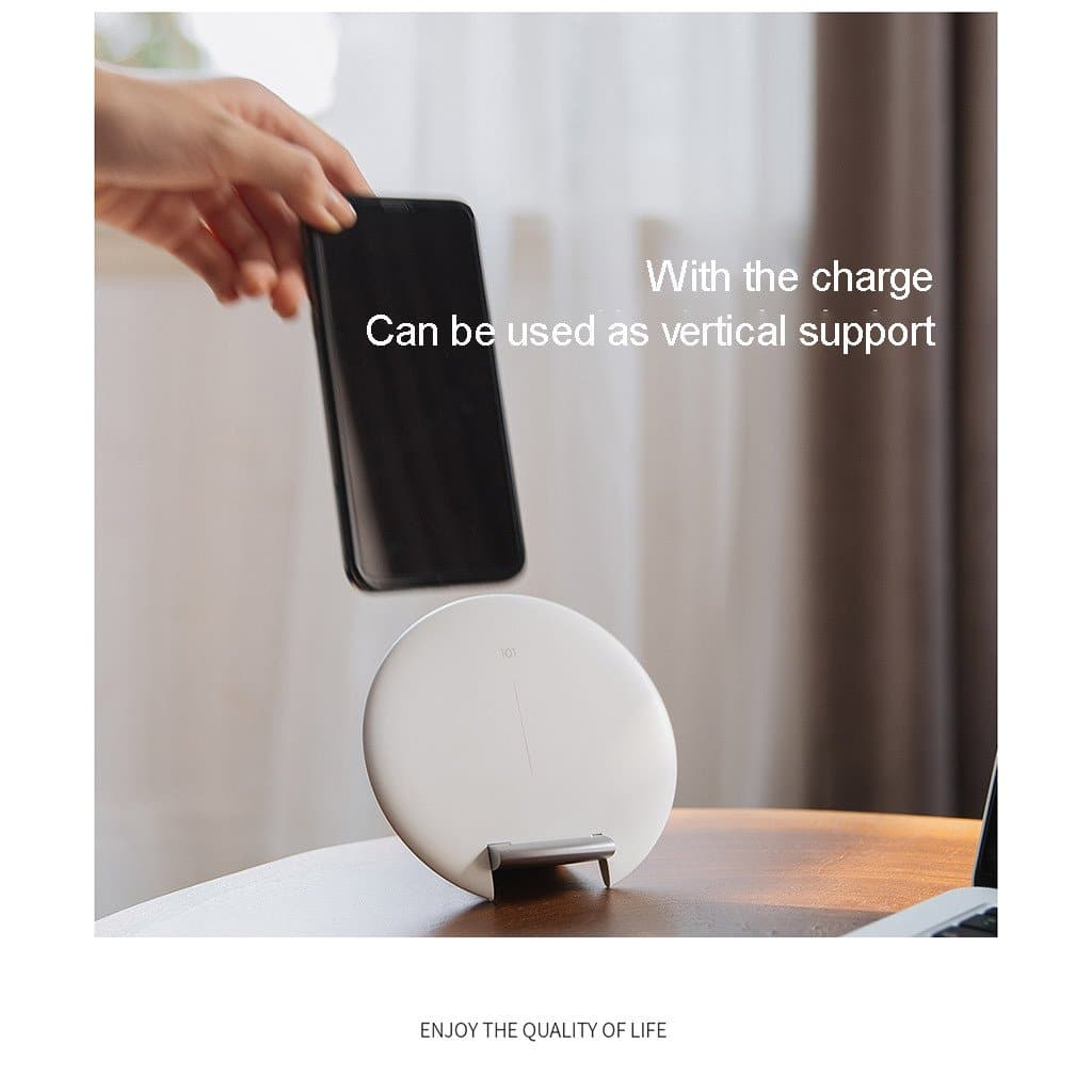 Fast Wireless Charger Stand Mount Holder 10W