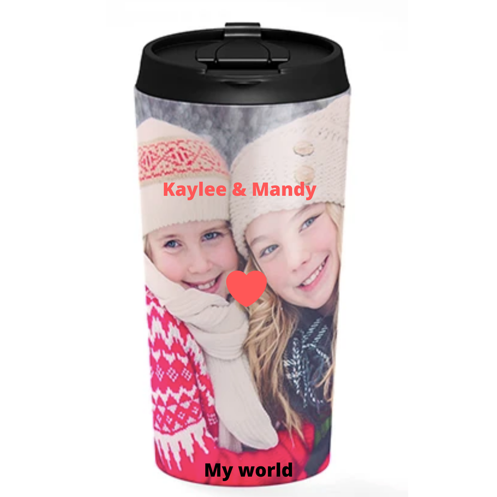 Gifts For Her, Photo Travel Mug, 15 OZ
