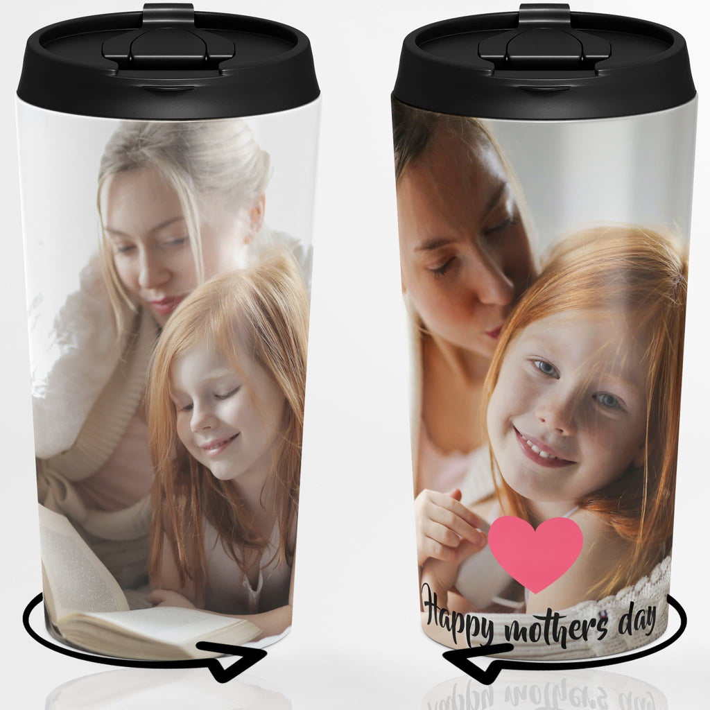 Mother's Day Gift Ideas,Photo Travel Mug, 15 OZ