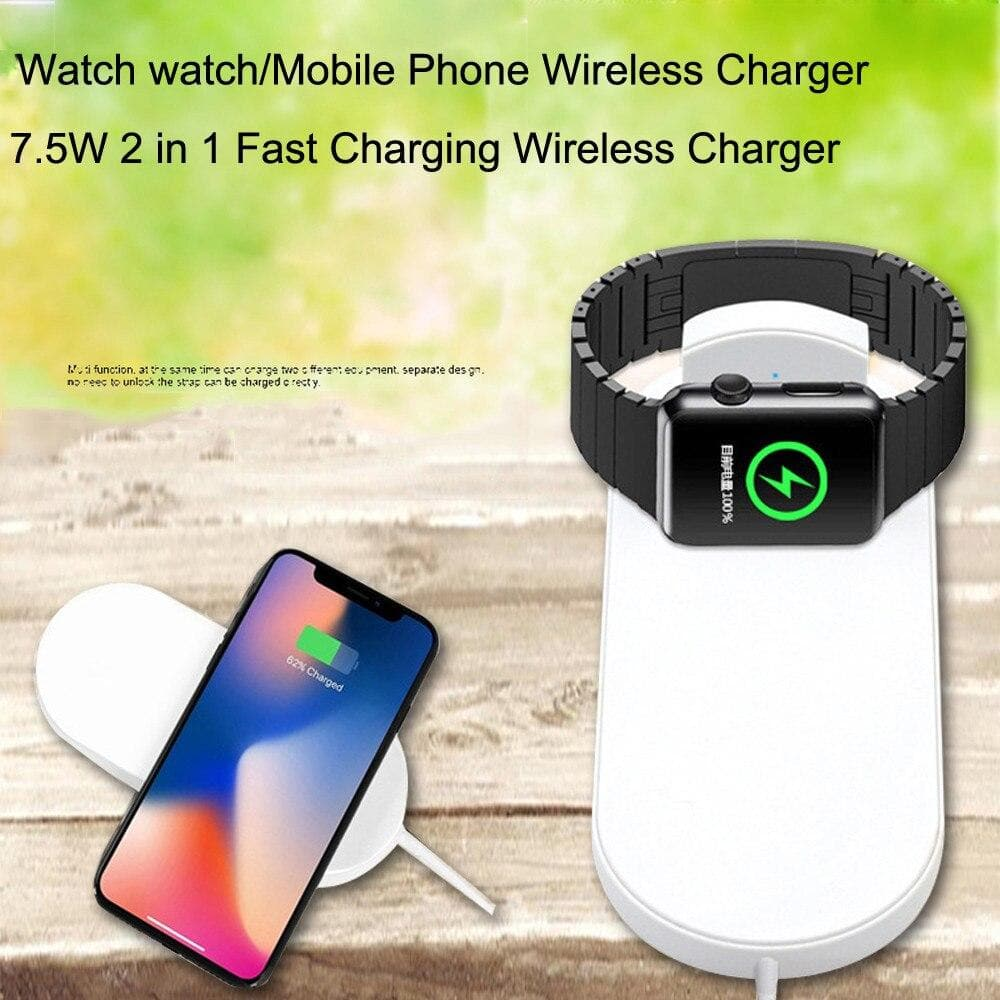 Qi Wireless Fast Charger Stand Holder for Watch 4