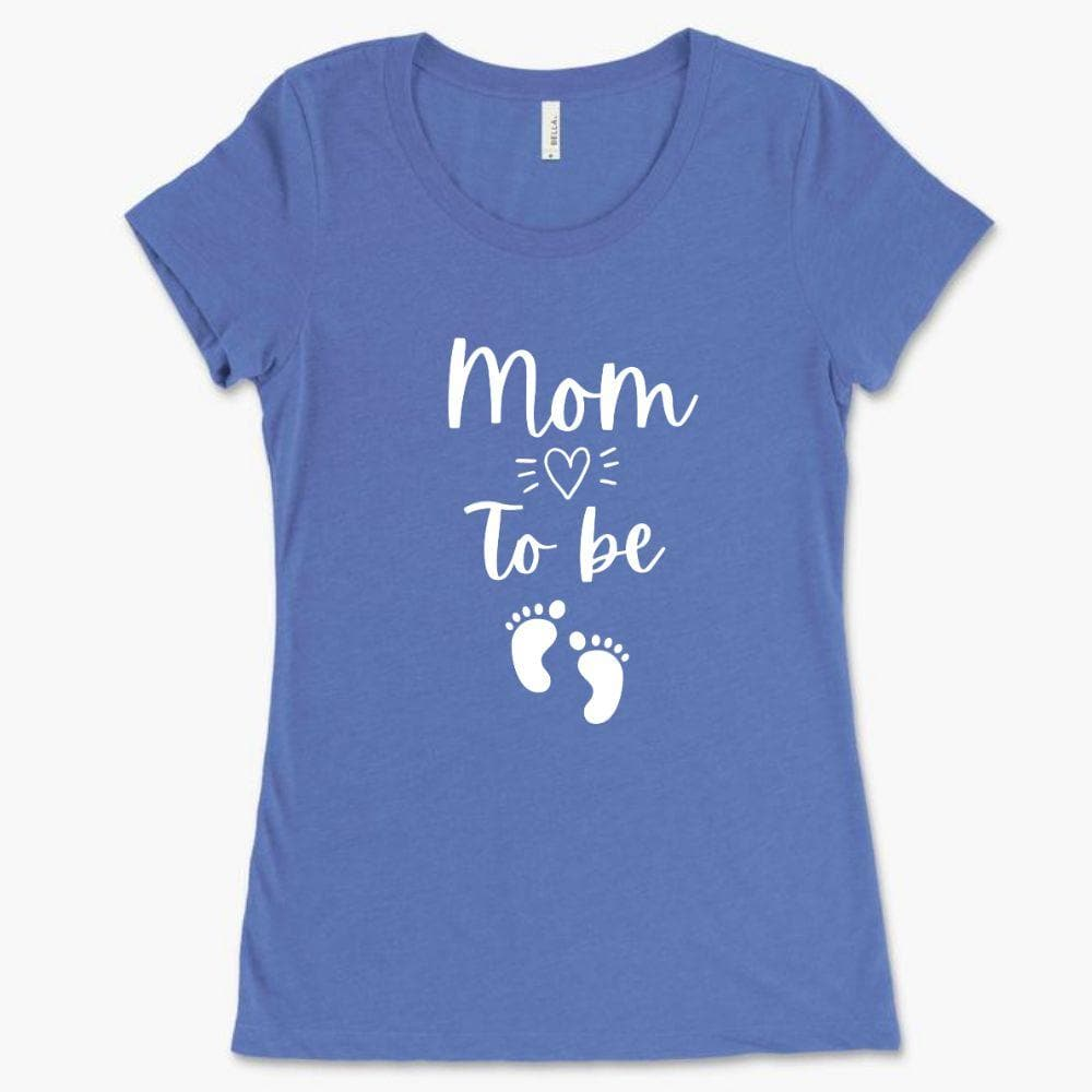 Cute Pregnancy Shirt - Mom to be - Bella 8413 (Women)