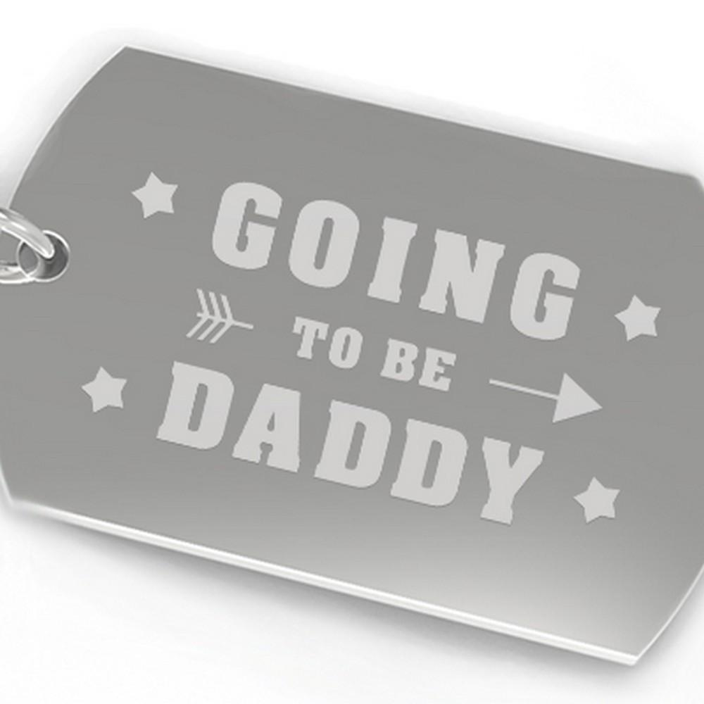 Going To be Daddy Key Chain Baby Announcement Gift