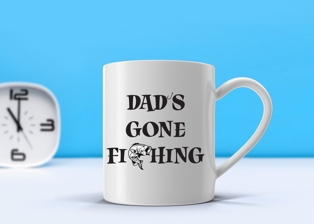 Dad's Gone Fishing Mug