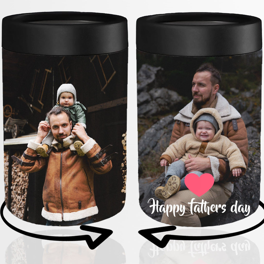 Fathers Day Custom Insulated Koozie