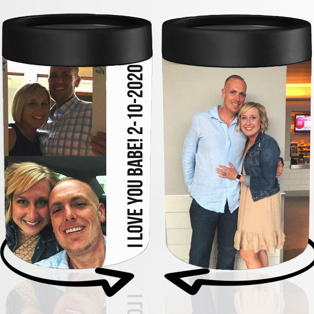 Valentine's Day Gift Idea, Custom Can Koozie