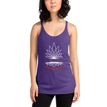 Load image into Gallery viewer, Lotus Women's Racerback Tank