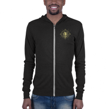Load image into Gallery viewer, Sunrise Deco Unisex zip hoodie