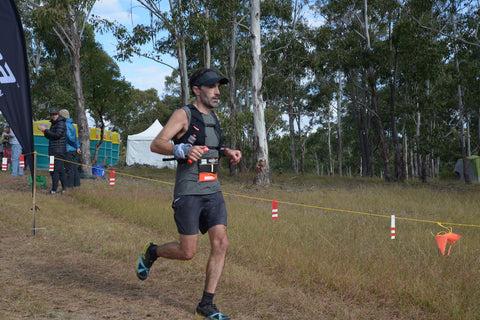 Wearing the Number 1 at Ultra Trail Australia