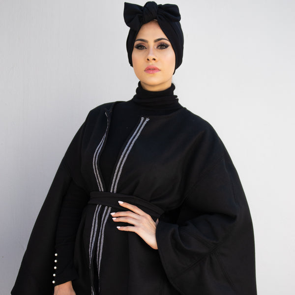 Ajmaan Winter 2019 Collection winter poncho