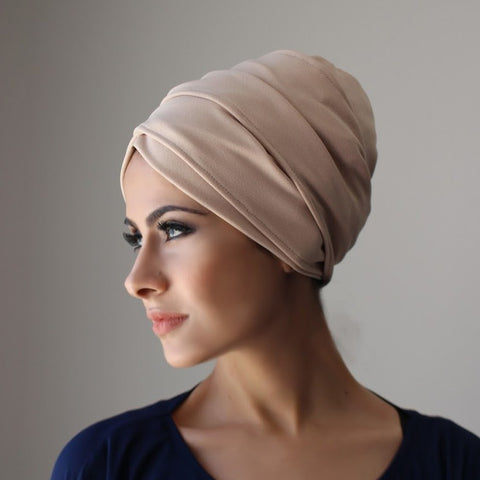 Ajmaan Luxe Layered Pull-On Turbans