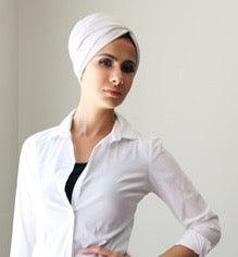 Junior Luxe Layered pull-on turban