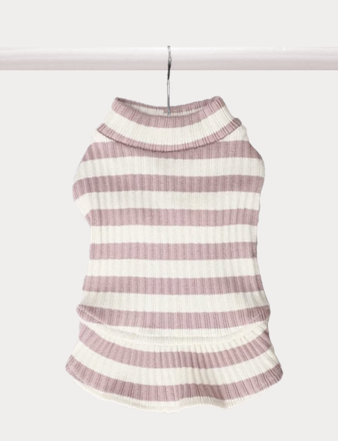Aimee Striped Sweater Dress - FURRY BETCH