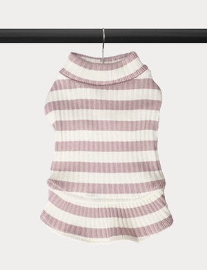 Aimee Striped Sweater Dress