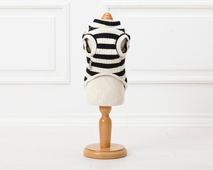 Andee Striped Dog Sweater - FURRY BETCH