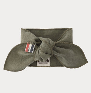 Solid Olive Green Fashion Scarf