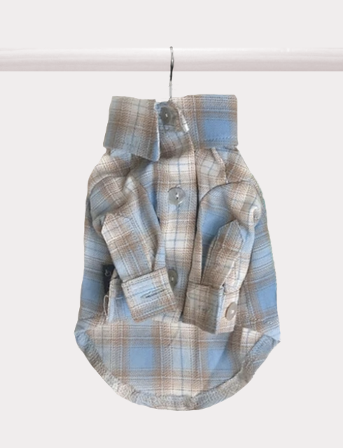Russell Plaid Button-up - FURRY BETCH