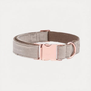 Sand Velvet Dog Collar - FURRY BETCH