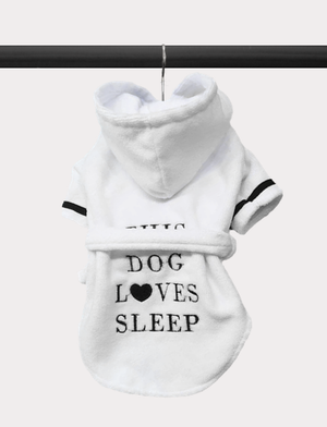Sleepy Dog Bathrobe
