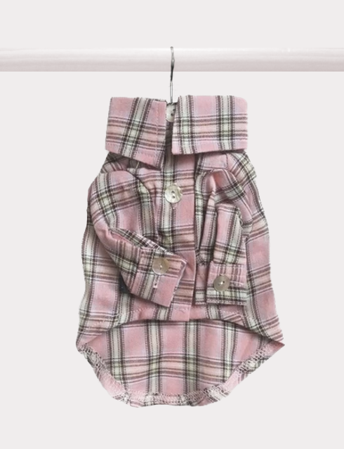 Sorbet Plaid Button-Up - FURRY BETCH