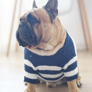 Marinière Navy and White Striped Sweater
