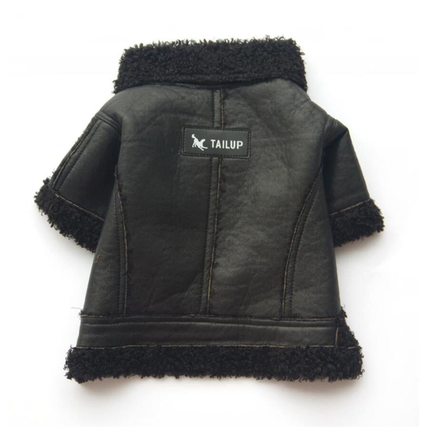 Teddy's Leather Jacket - FURRY BETCH