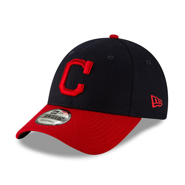 New Era Cap - 9FORTY Cleveland Indians Contrast Visor League Blu Navy