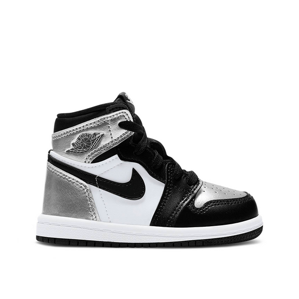 "Jordan 1 Retro High Neonato ""Silver Toe"" (TD)"