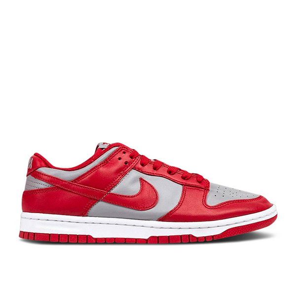 Nike - Dunk Low Retro Medium Grey Varsity Red UNLV