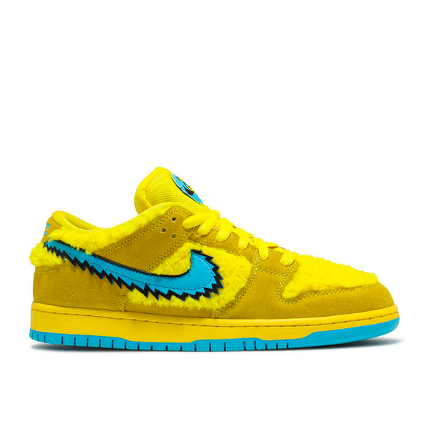 Nike - SB Dunk Low Grateful Dead Bears Opti Yellow