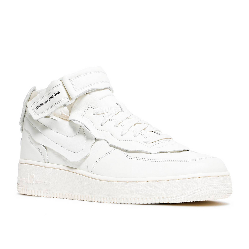 Nike - Air Force 1 Mid Comme des Garcons White