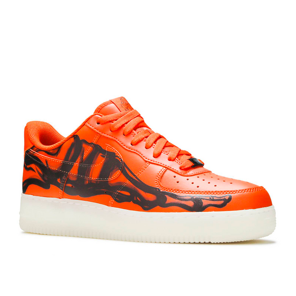 Nike - Air Force 1 Low Orange Skeleton