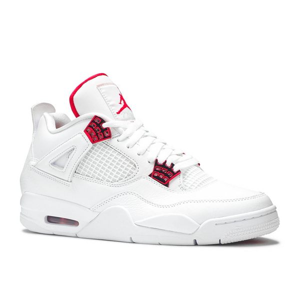 Nike - Jordan 4 Retro Metallic Red