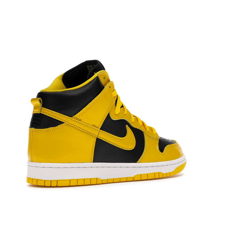 Nike Dunk High Black Varsity Maize