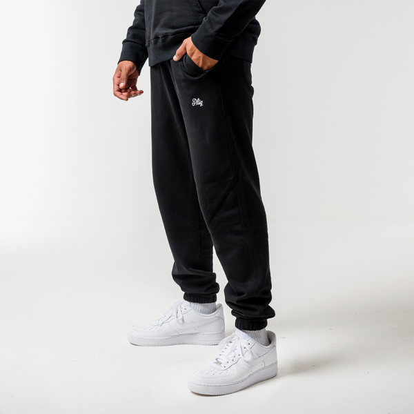 Logo Pants - Black