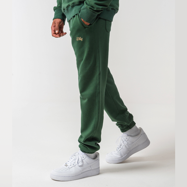 Logo Pants - Green
