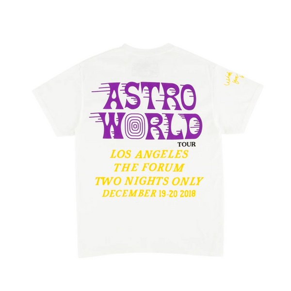 Travis Scott Astroworld LA Exclusive T-Shirt White