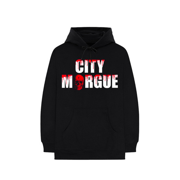 City Morgue x Vlone Dogs Hoodie Black