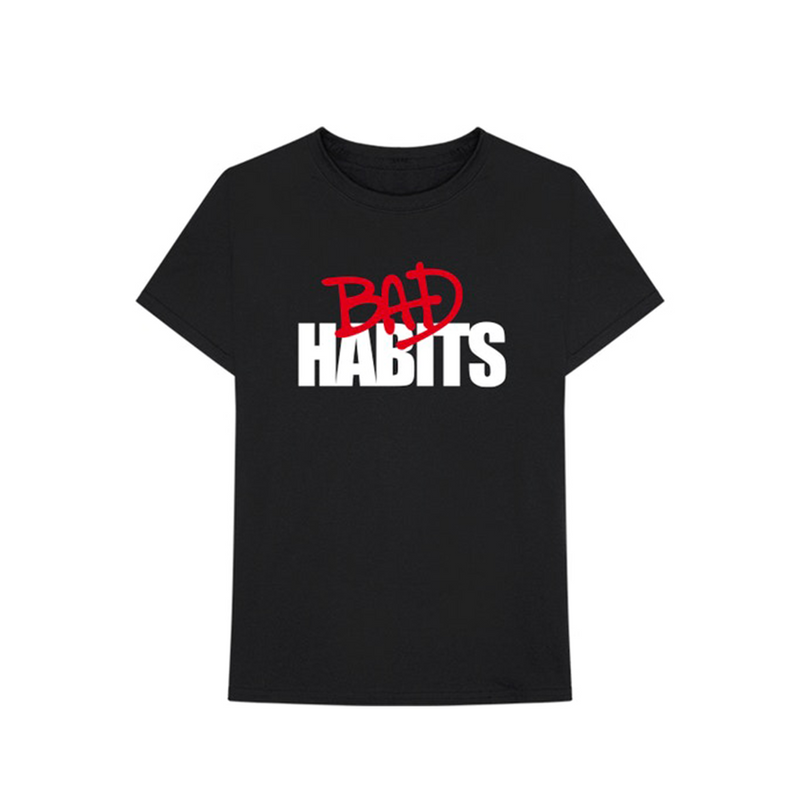 VLone x Nav Bad Habits Tee Black