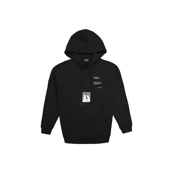 CSNV DROPPED SHOULDER COTTON HOODIE