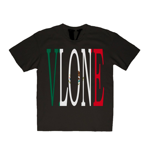 Vlone Mexico Staple Tee Black