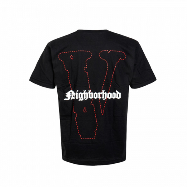 Vlone Neighborhood Skull Tee Orange