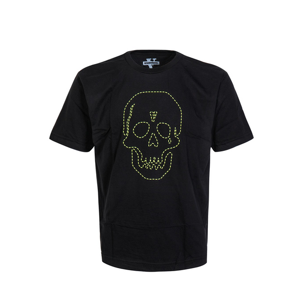 Vlone Neighborhood Skull Tee Green
