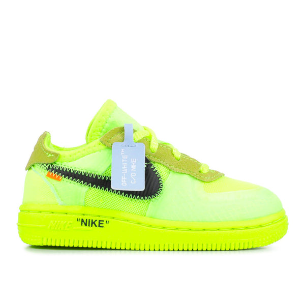 Nike - Air Force 1 Toddler  Off White VOLT
