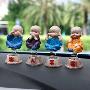 Bubble-Heads Monks 4Pcs/set
