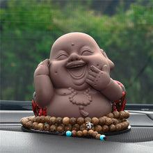 Load image into Gallery viewer, Buddha Figurine w/ Beads
